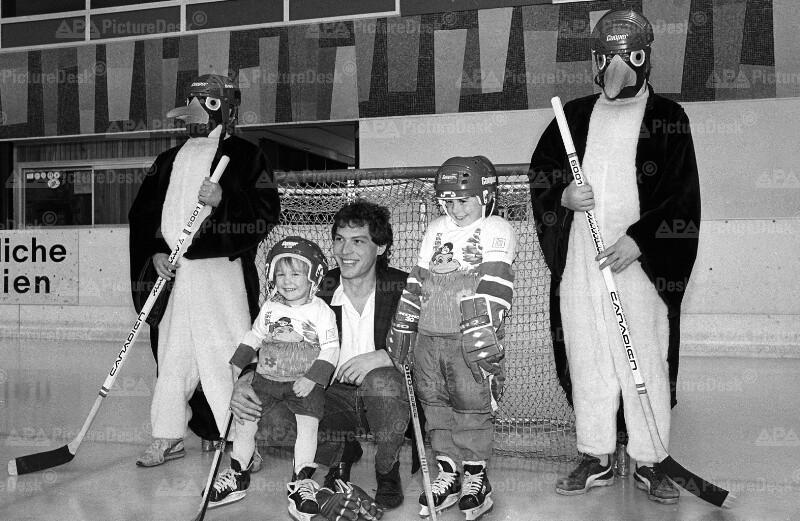 Eishockey-WMt in Wien 1987- Maskottchen