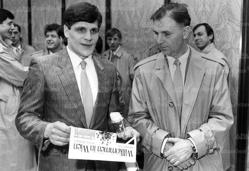 Eishockey-WM in Wien 1987 - Die russischen Titelverteidiger