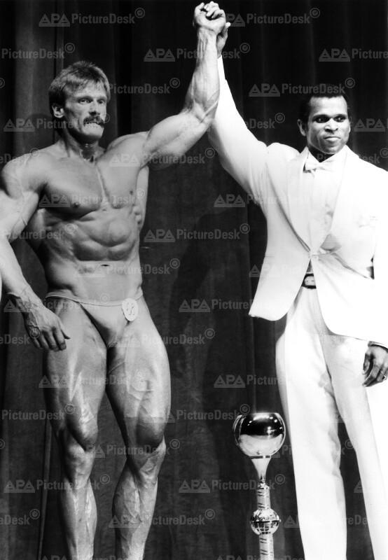 Bodybuilding Profi-Weltmeisterschaft in Wien 1987