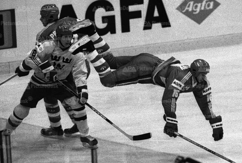 Eishockey-WM in Wien 1987 - Match UdSSR gegen Schweden