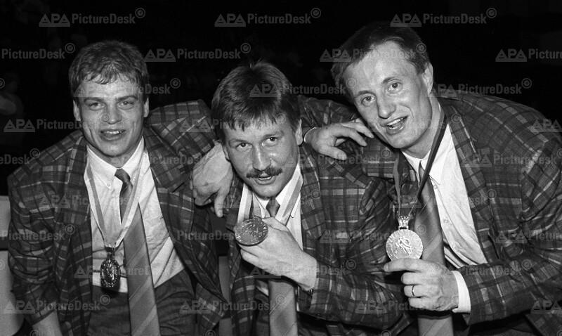 Eishockey-WM in Wien 1987 - Die schwedischen Sieger