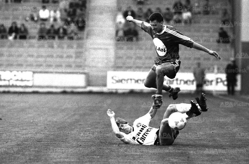 Fußball 1987: Wiener Sportclub gegen Rapid