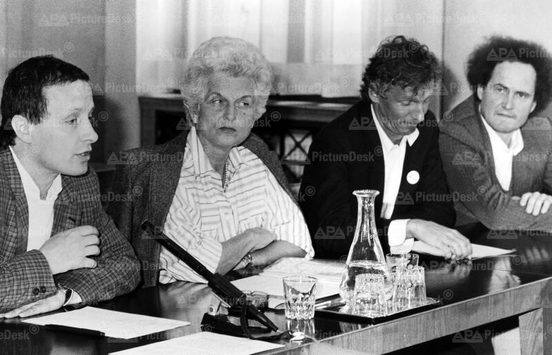 Die Grünen 1987 - Pilz, Meissner-Blau, Geyer, Wabl
