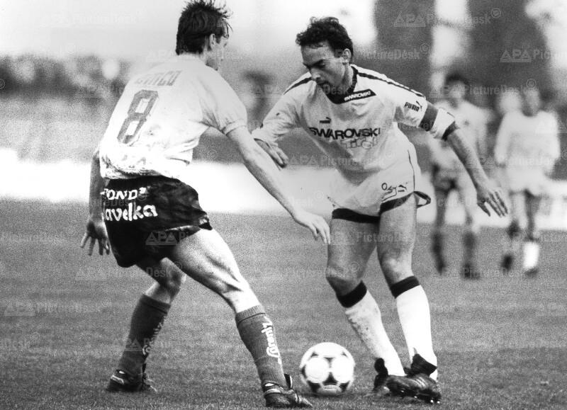 Fußball 1987: Vienna vs. FC Tirol