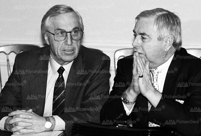 Alfred Dallinger und Robert Graf