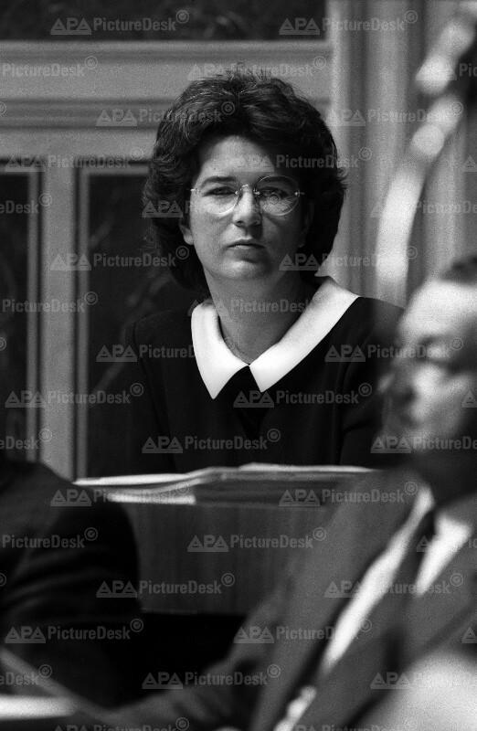 Angelobung von Heide Schmidt zur ersten Vertreterin der FPÖ
