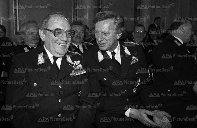 Günther Bögl und Karl Reidinger