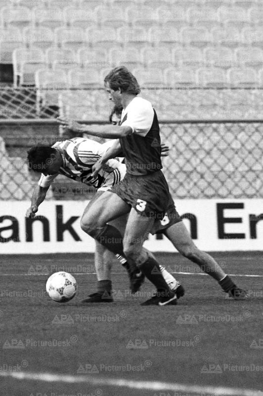 Bundesliga Play-Off 1988 - Rapid vs. Sportklub - Kranjcar, Reisinger und Busk