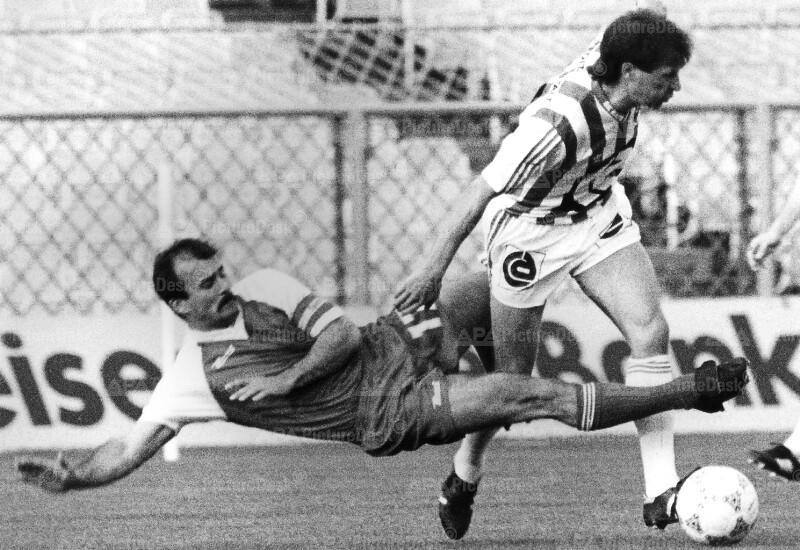 Bundesliga Play-Off 1988 - Austria vs. Sportklub - Peter Müllner und Suleimann Halilovic