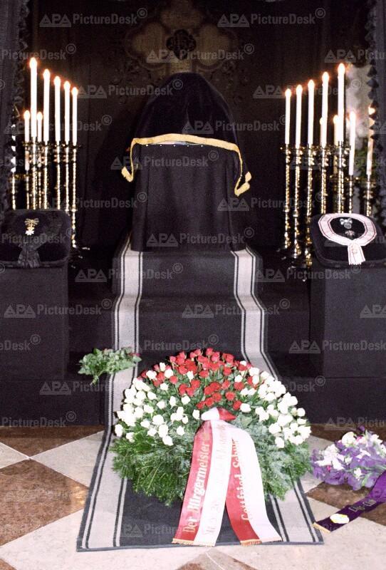 Begräbnis von Kaiserin Zita