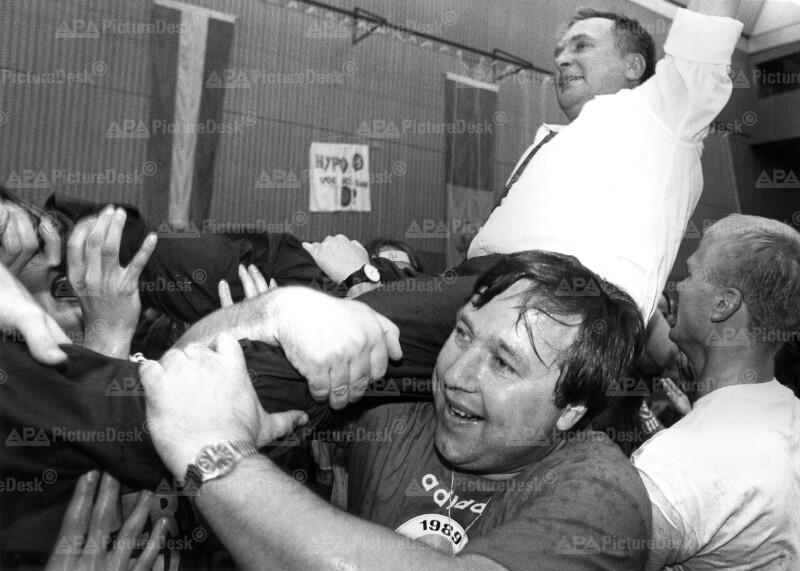 Handball-Europacup 1989 - Hypo Südstadt vs. Spartak Kiew - Gunnar Prokop