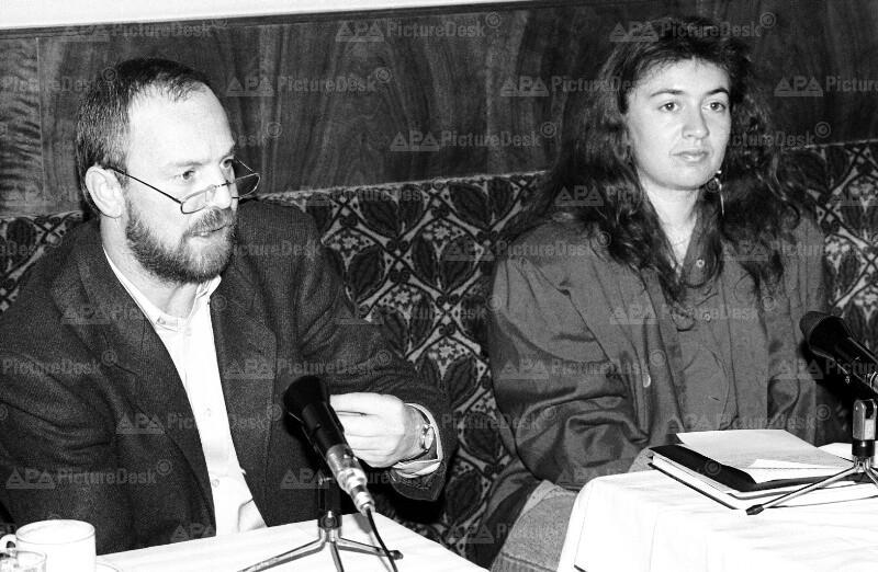 Fritz Zaun und Monika Langthaler