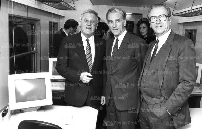Heinrich Übleis, Guido Schmidt-Chiari und Walter Wolfsberger