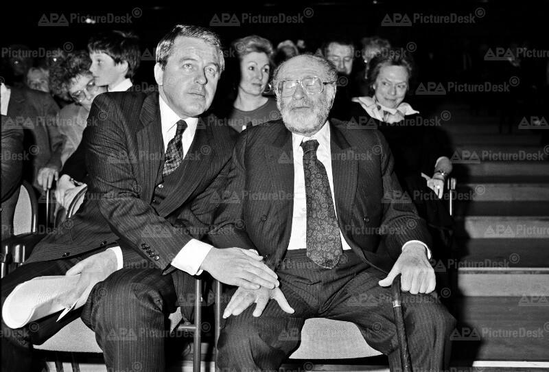 Bruno Kreisky und Franz Vranitzky