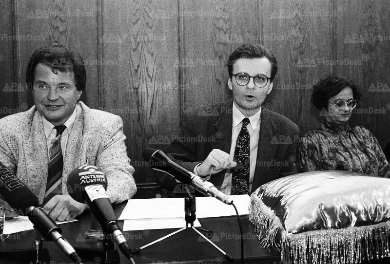 Franz Grossmann, Christian Cap und Irmtraud Karlsson