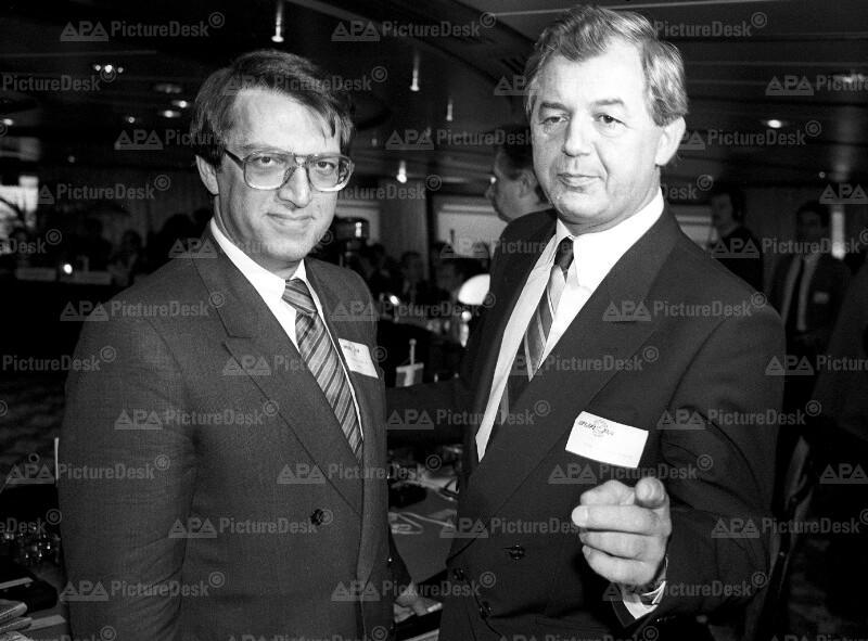 Josef Riegler und Mesut Yilmaz