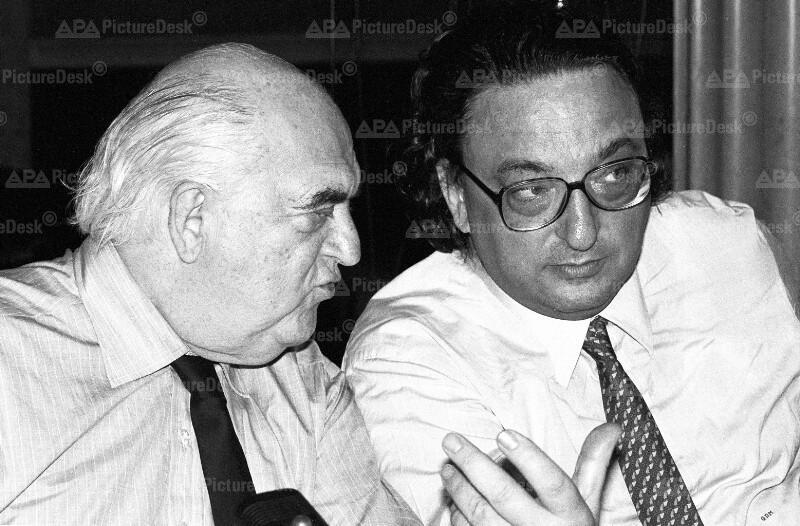 Gianni de Michelis und George Weidenfeld