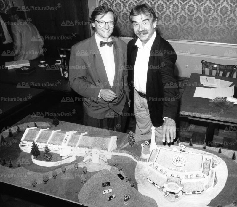 Wolfgang Schüssel und Gottfried Kumpf