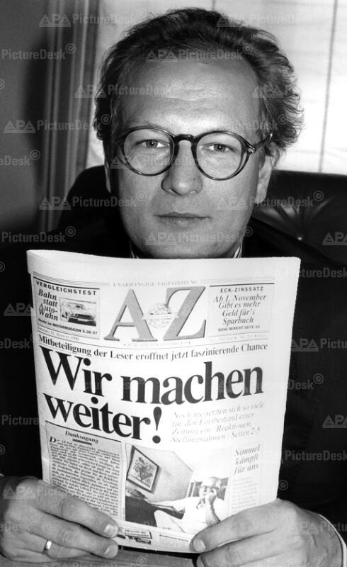 Arbeiterzeitung - Günter Kerbler