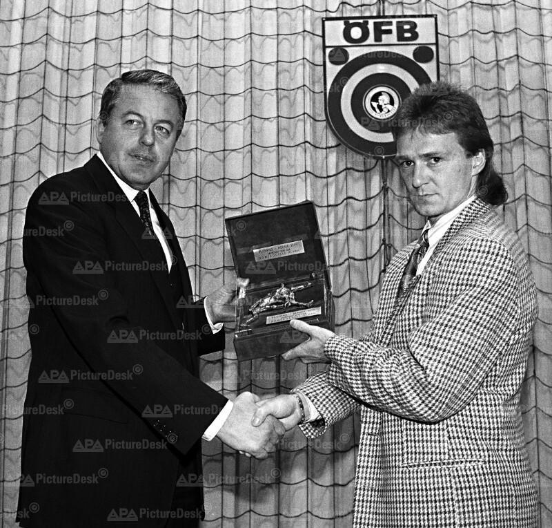 Franz Vranitzky und Andreas Ogris