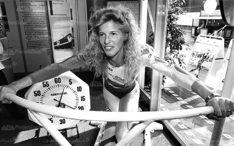 Frühjahrsmesse 1991 - Sabine Tröger