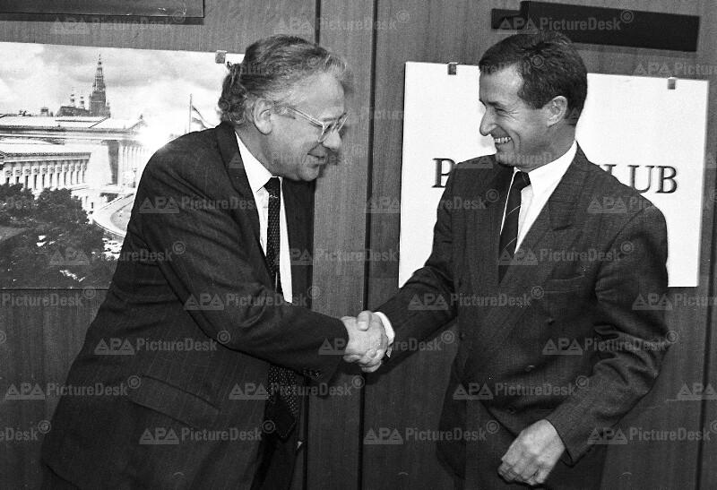 Erhard Busek und Wolfgang Vyslozil