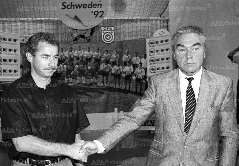 Beppo Mauhart und Alfred Riedl