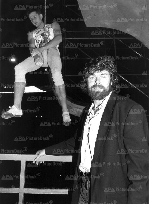 Kletter-Weltcup 1991 - Reinhold Messner