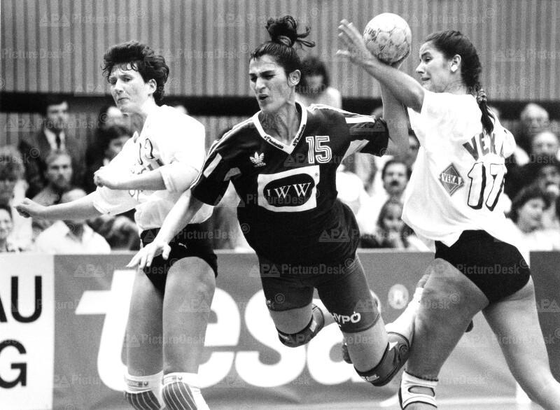 Handball Europacup - TV Lützellinden vs. Hypo Südstadt - Neitsch, Bozovic, Kittler