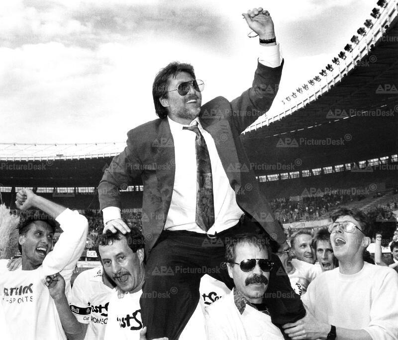 Fußball - ÖFB-Cup 1991 - Willy Kreuz