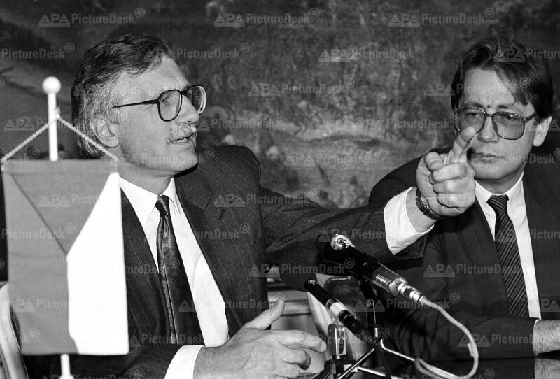 Vaclav Klaus und Ferdinand Lacina