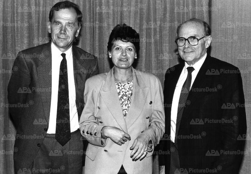 Bernhard Görg, Rosemarie Bauer und Ludwig Steiner