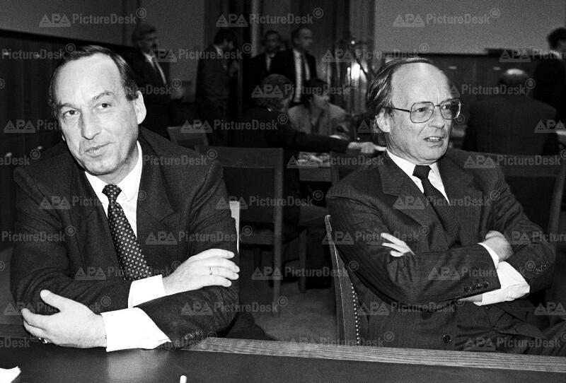 Willi Fuhrmann und Peter Jankowitsch