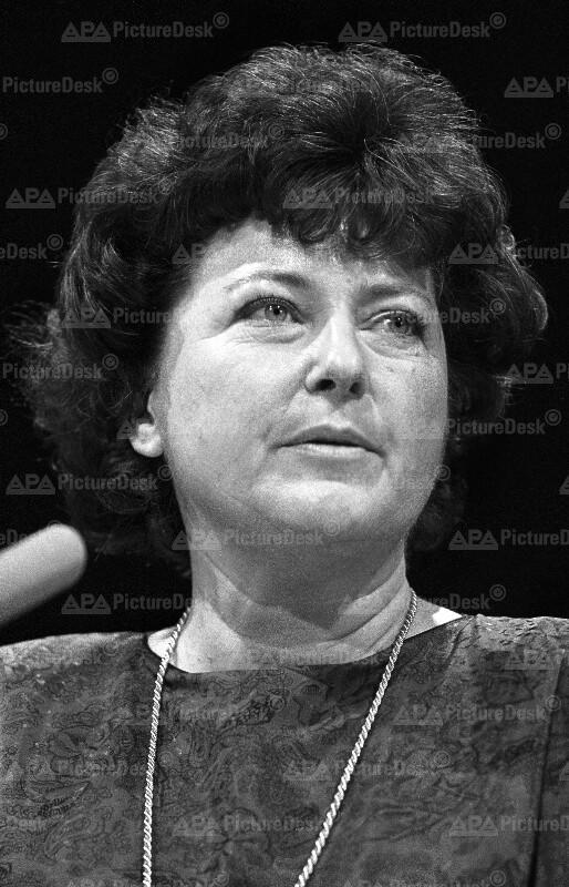 Die Spitzengewerkschafterin Lore Hostasch