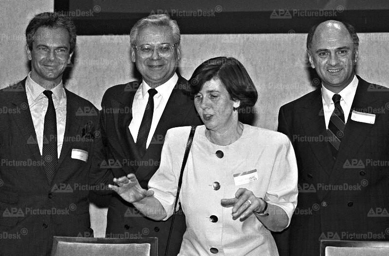Andreas Treichl, Erhard Busek, Helga Rabl-Stadler und Erwin Pröll