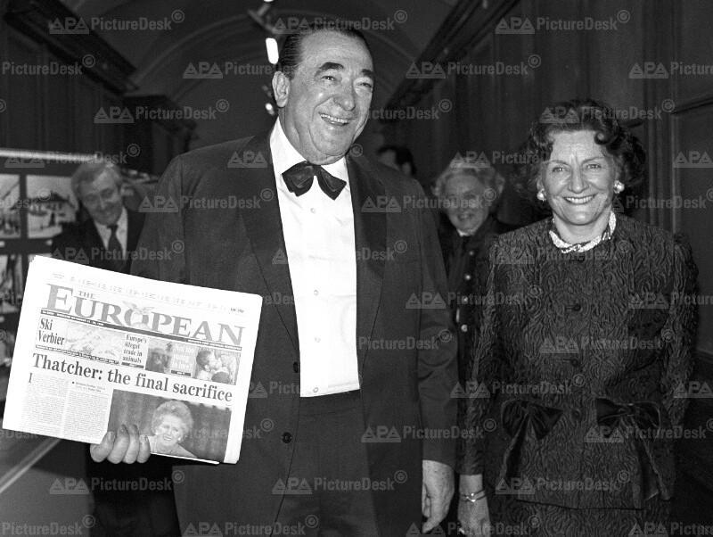 Robert und Elisabeth Maxwell