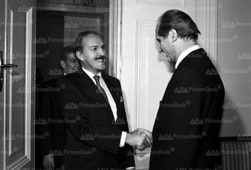 Al Zahawi und Thomas Klestil