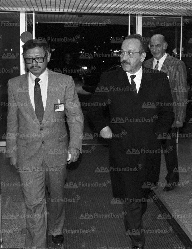 OPEC-Konferenz in Wien - Ramizi Salman Abdul Hussain