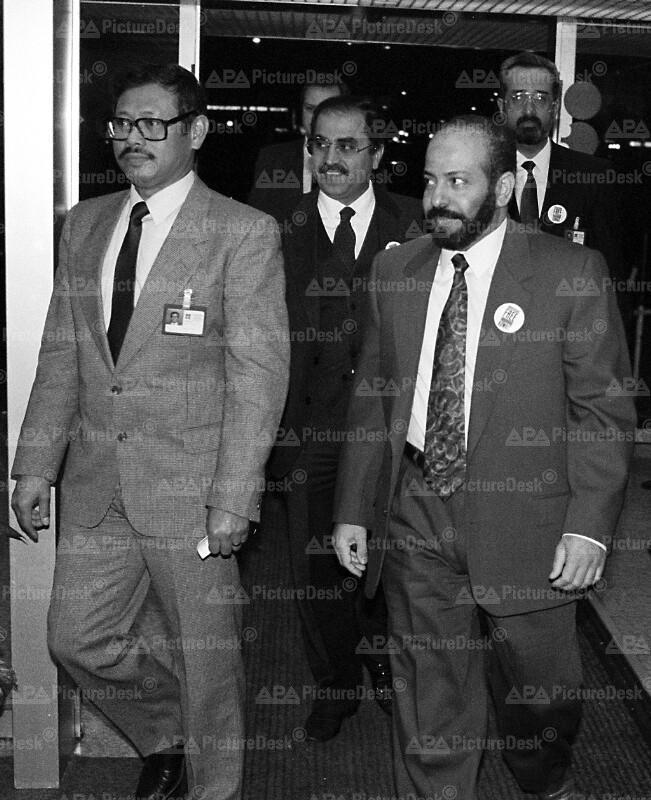 OPEC-Konferenz in Wien - Rasheed Salem al-Ameeri