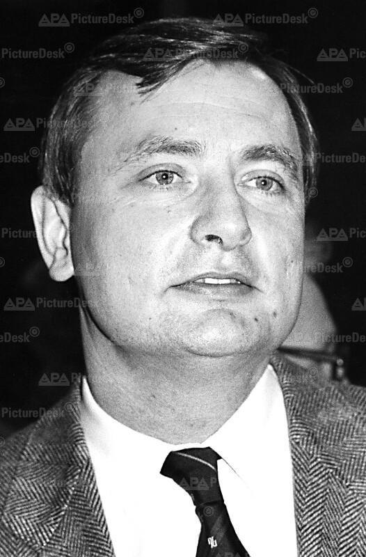 Der neue Leiter des Gesundheitsministeriums Harald Ettl