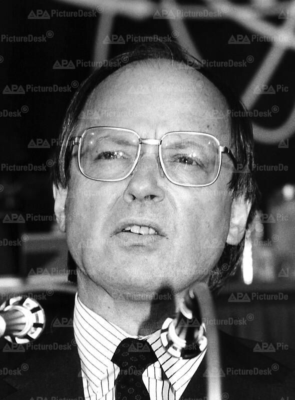 Kandidat als EG-Staatssekretär - Peter Jankowitsch