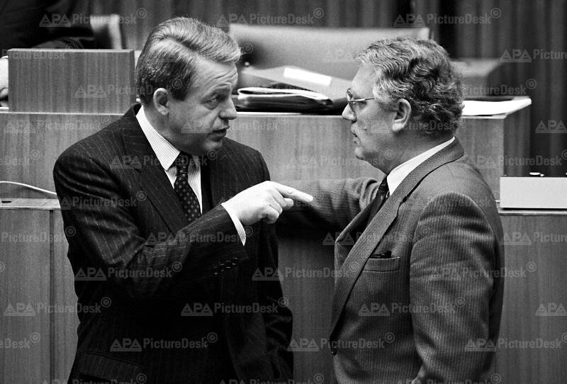 Franz Vranitzky und Rudolf Streicher