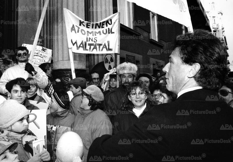 Ablehnung gegen Atommüll-Endlager - Jörg Haider
