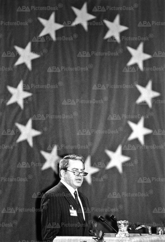 EU-Ministerkonferenz - Franz Vranitzky