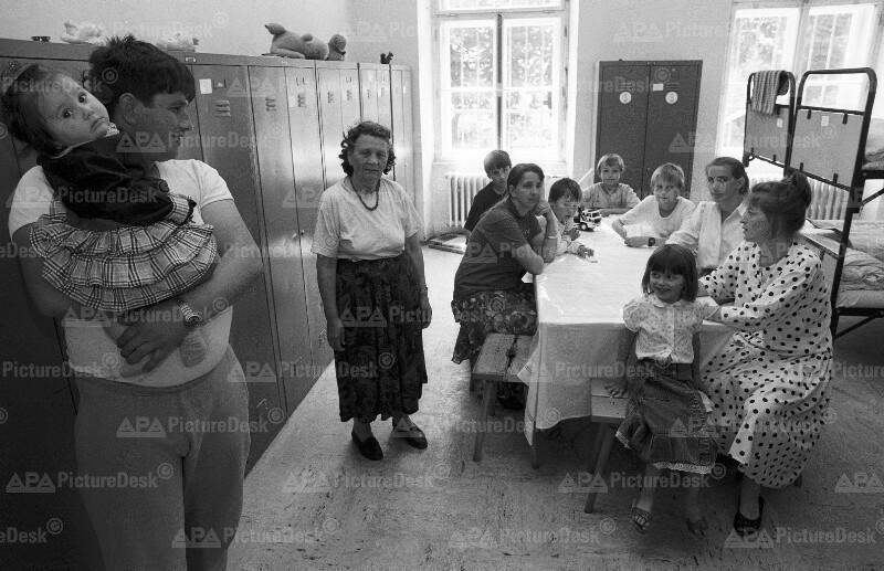 Bosnische Flüchtlinge in Österreich