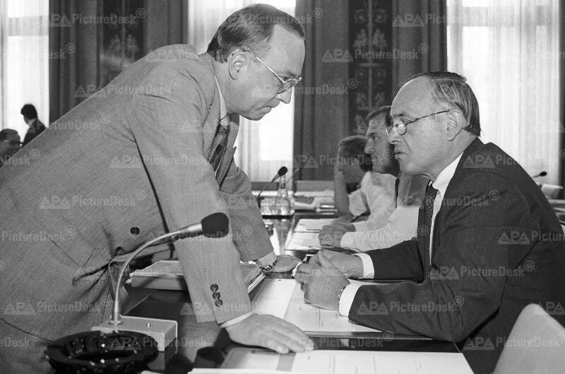 Heinrich Neisser und Willi Fuhrmann