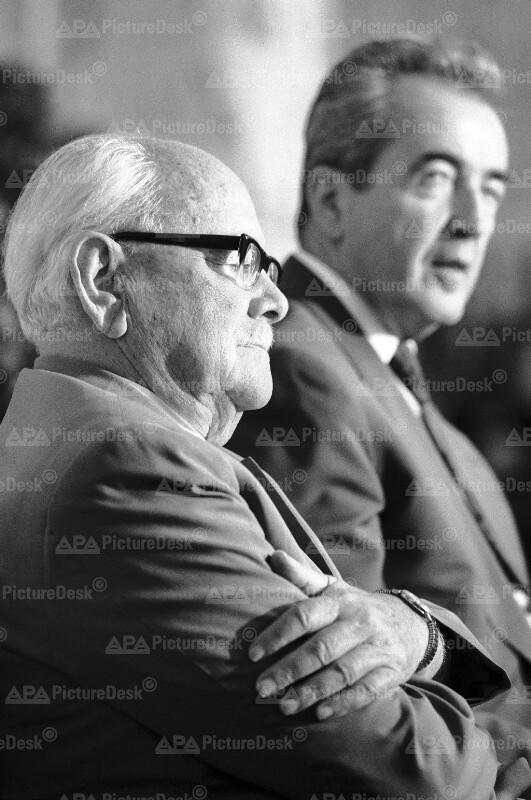Fritz Bock und Alois Mock