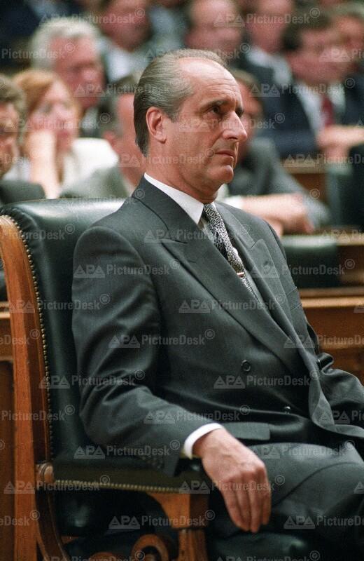 Angelobung des Bundespräsidenten Thomas Klestil
