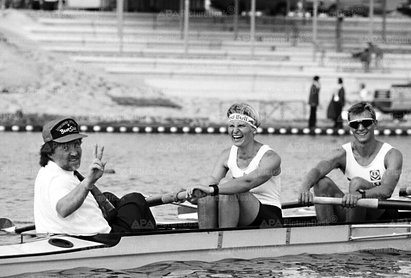 Willi Kreuz, Gabi Sinzinger und Christoph Schmölzer