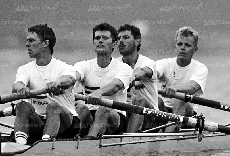 Ruder WM 1991 - Kabas, Dieplinger, Obrecht, Faderbauer (AUT)